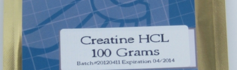 Prescription Nutrition's Creatine HCl