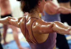 PIcture of Hot Yoga Workout